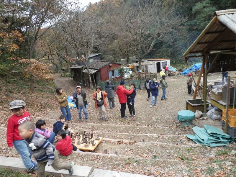 きのくに子どもNPO「孝子の森でネイチャークラフト」_c0108460_20355807.jpg