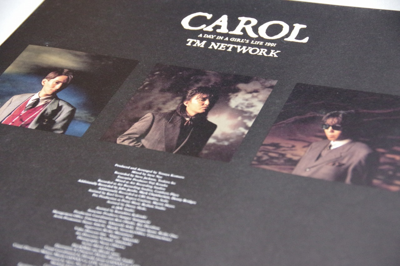 TM NETWORK「A DAY IN THE GIRL'S LIFE/CAROL (CAROL'S THEME I)」:音は物語を綴り、物語は音を奏で、少女は世界を救う_b0078188_09231124.jpg