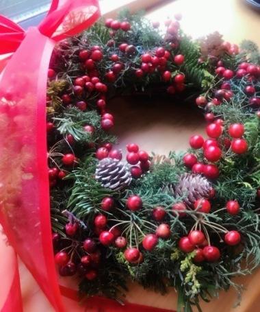 クリスマスリースのプレゼント_c0237291_16044262.jpeg
