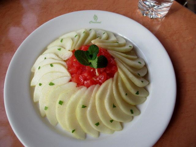 Cafe Dining CRESCENT-クレッセント- * 信州産ラ・フランスの冷製カペリーニ_f0236260_18375550.jpg