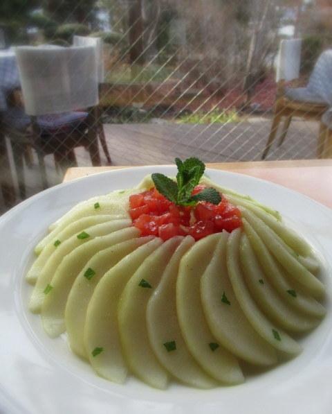 Cafe Dining CRESCENT-クレッセント- * 信州産ラ・フランスの冷製カペリーニ_f0236260_18401880.jpg