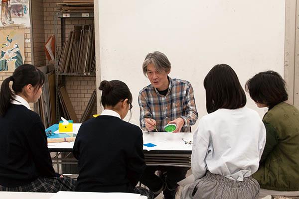 デッサン・色彩構成の体験イベントと受験相談会が行われました。_f0227963_20551643.jpg
