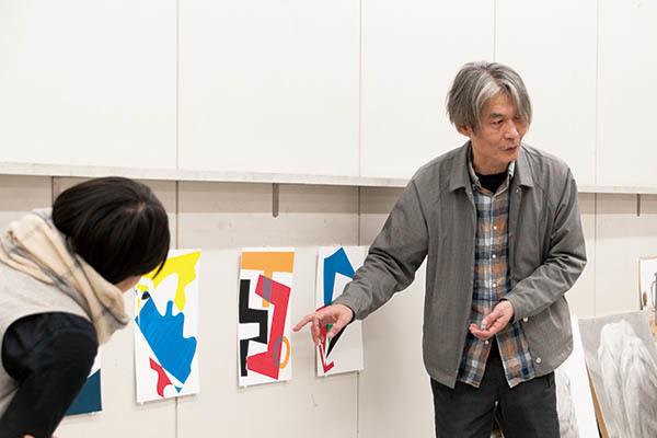 デッサン・色彩構成の体験イベントと受験相談会が行われました。_f0227963_20554838.jpg