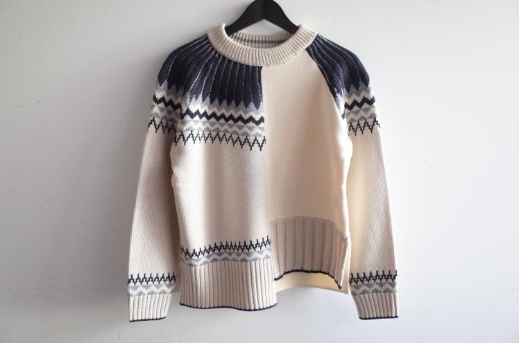 CYNICAL★柄切替knit★_e0269968_13204519.jpg