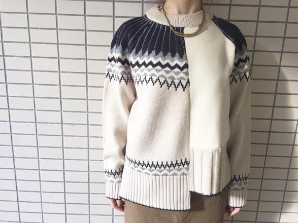 CYNICAL★柄切替knit★_e0269968_15013244.jpg
