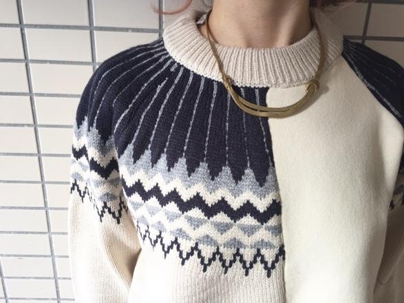 CYNICAL★柄切替knit★_e0269968_15013929.jpg