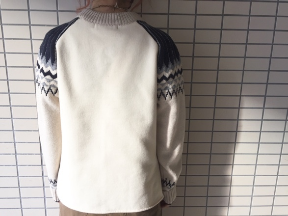 CYNICAL★柄切替knit★_e0269968_15014222.jpg