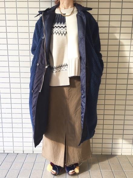 CYNICAL★柄切替knit★_e0269968_15014735.jpg