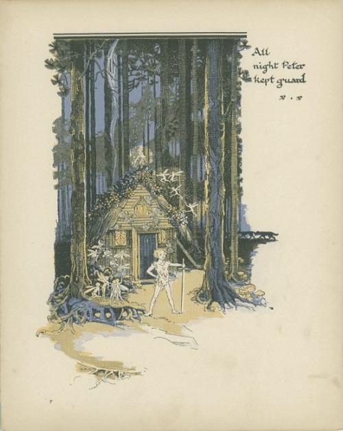 挿絵:Gwynedd M. Hudson画のピーター・パン_c0084183_21533623.jpg