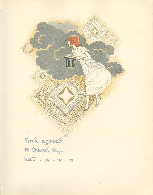挿絵:Gwynedd M. Hudson画のピーター・パン_c0084183_2154184.jpg