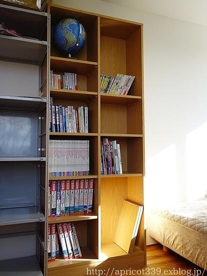長男の部屋、本の収納の見直し AFTER_c0293787_15424504.jpg