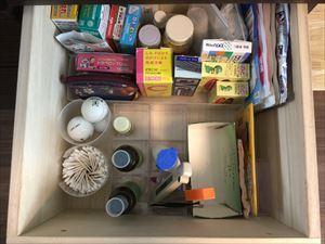 薬箱・文房具・キッチンの 引き出しを整えるお手伝い♪_a0239890_09151118.jpg
