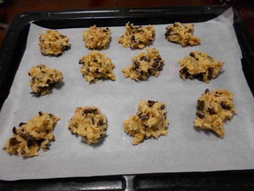 板チョコとくるみの簡単ドロップクッキー_f0019498_21405223.jpg