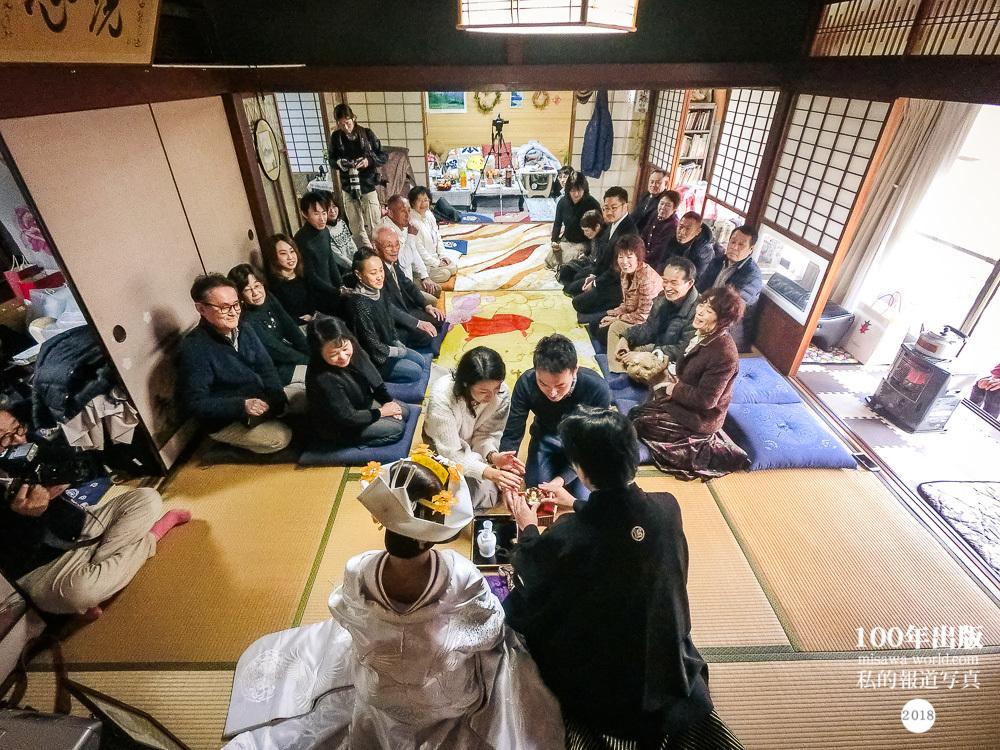 2018/12/9 もうひとつの結婚式 三三九度_a0120304_05162488.jpg