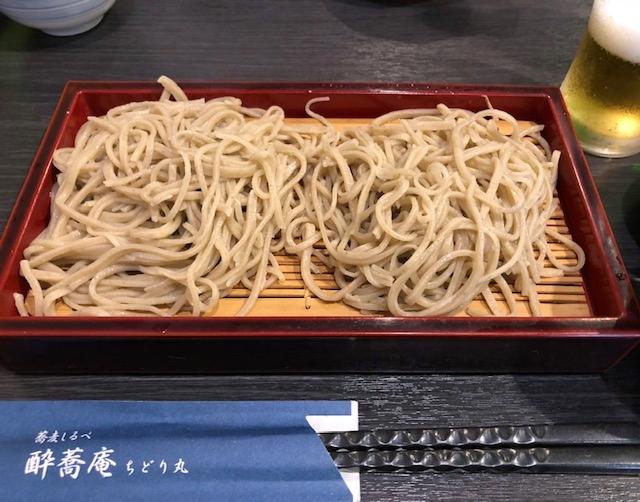 蕎麦しるべ「酔蕎庵 ちどり丸」!_a0161408_20492038.jpg