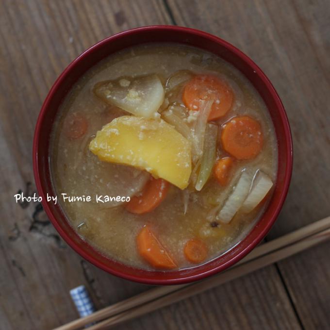 根菜の具沢山みそ汁_f0235919_15150579.jpg