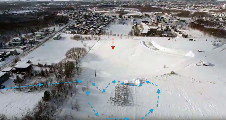 雪の中の岩見沢プロジェクト_c0189970_09402058.jpg
