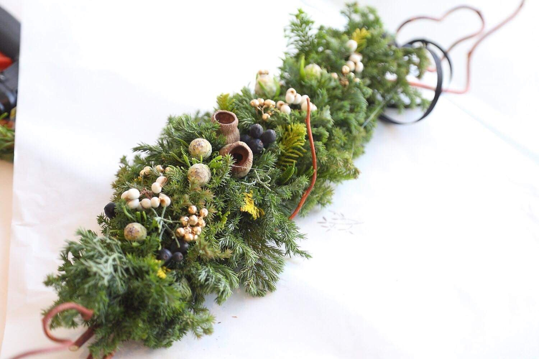クリスマスガーランドワークショップ 無事終了いたしました」_a0325273_01390398.jpg