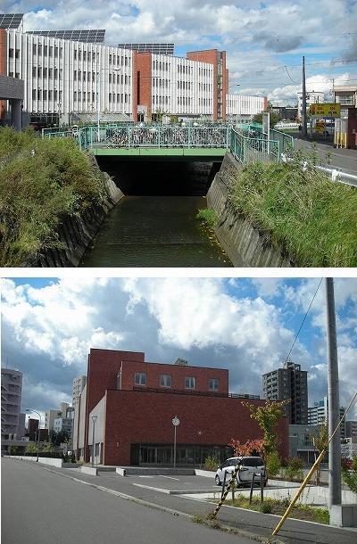 白石区役所複合庁舎と東札幌小学校_f0078286_10302667.jpg