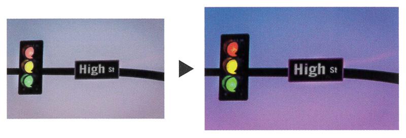 ネオコントラスト シーコントラスト 偏光レンズ コダックライン