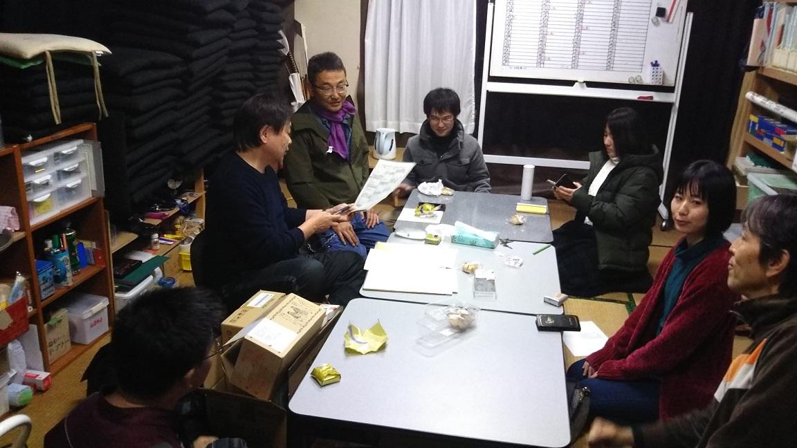 18/12/8 台本会議_a0137796_20544836.jpg