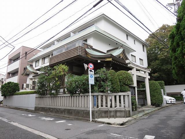 平田神社(代々木散歩①)_c0187004_21194839.jpg