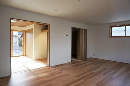 『町家のような二世帯住宅』 完成引き渡し_e0197748_11453260.jpg
