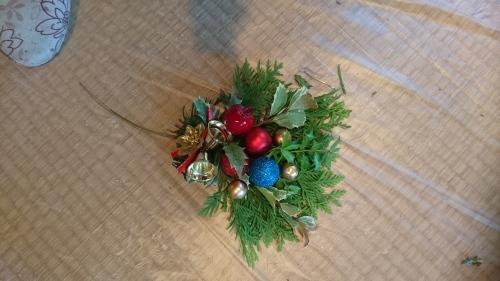 クリスマスのオブジェ_f0228967_21490987.jpg
