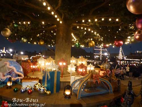 ディズニーシーのクリスマス その3 _d0128697_4522921.jpg