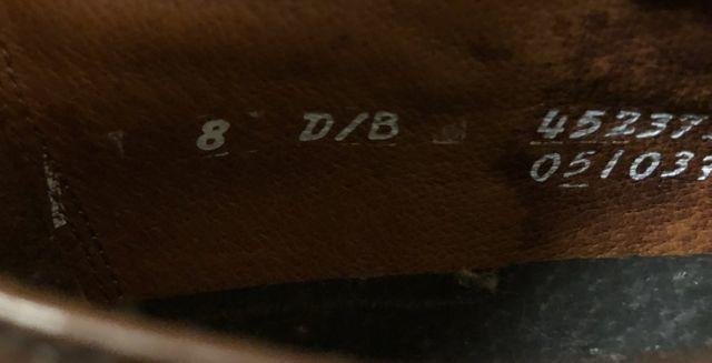 アメリカ仕入れ情報#40 80s デッドストック HANOVER SHOES!_c0144020_14333829.jpg