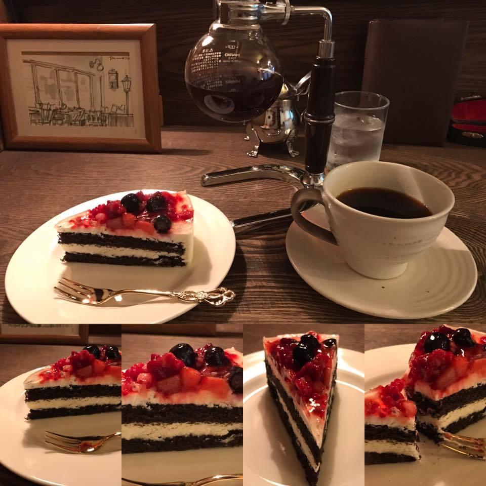 クリーム系のケーキには深煎り一本勝負!_e0120837_22001269.jpg