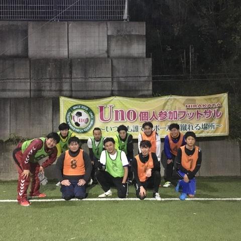 UNO 12/13(木) at UNOフットボールファーム_a0059812_16170792.jpg