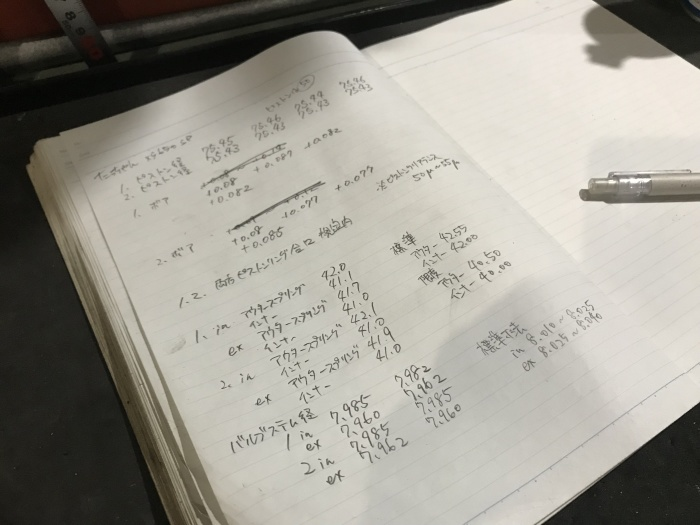 XS650エンジン点検続き_e0365651_22435561.jpg