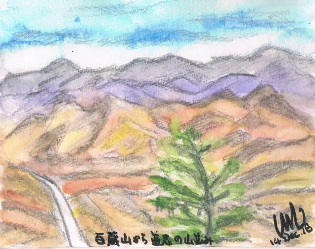 百蔵山から道志の眺望_e0232277_14172590.jpg