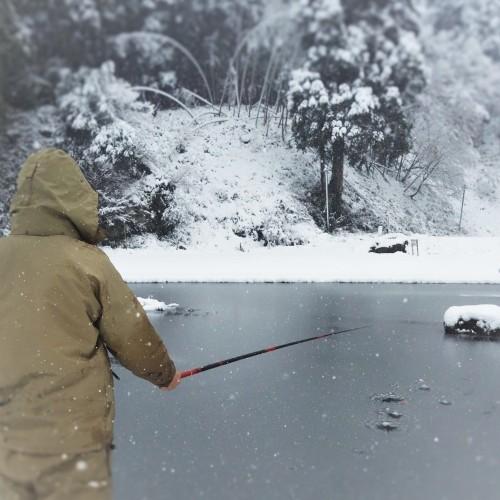 雪中キャンプ 2018.12.15_c0213599_20335447.jpg