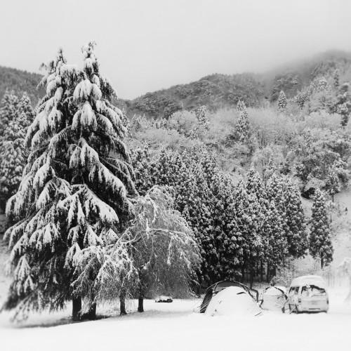 雪中キャンプ 2018.12.15_c0213599_20343046.jpg