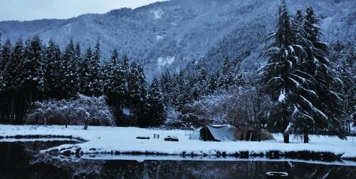 雪中キャンプ 2018.12.15_c0213599_20474947.jpg