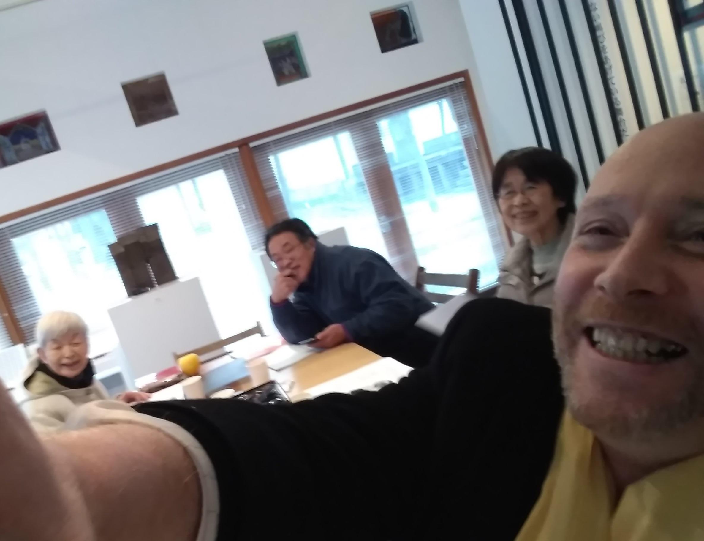 「檻の会」12月例会の報告 Kukai de decembre au Memorial Ori no haikukan_e0375210_21173595.jpg
