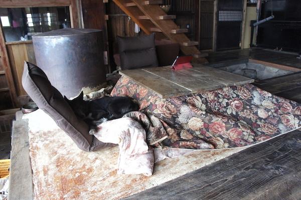 古民家的暖房 - あまねの山女