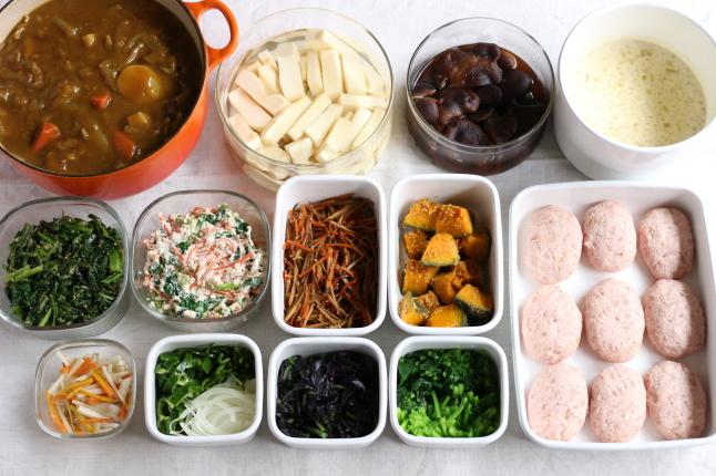 今週のつくり置き ~今回はお弁当より夕食の手助けに!~ - キラキラのある日々
