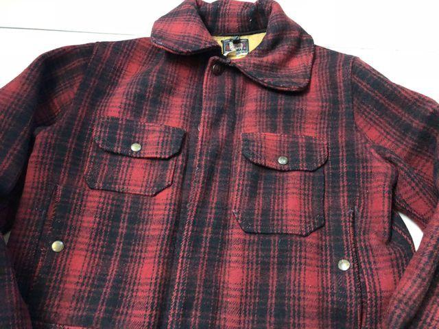 アメリカ仕入れ情報#41 12/22 入荷! 50s Woolrich wool HUNTING JACKET!_c0144020_17384519.jpg