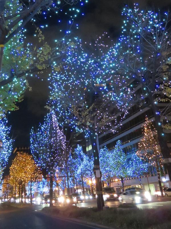 御堂筋イルミネーション2018・・・「光の饗宴」_d0352628_11212322.jpg