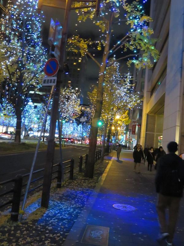 御堂筋イルミネーション2018・・・「光の饗宴」_d0352628_11225035.jpg