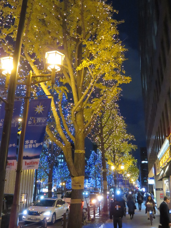 御堂筋イルミネーション2018・・・「光の饗宴」_d0352628_11243046.jpg