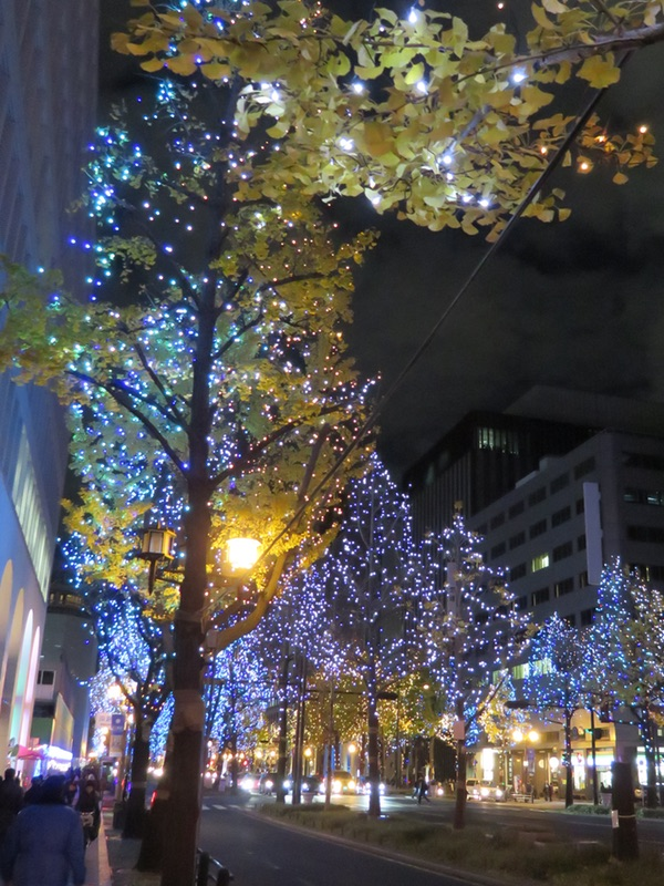 御堂筋イルミネーション2018・・・「光の饗宴」_d0352628_1125725.jpg