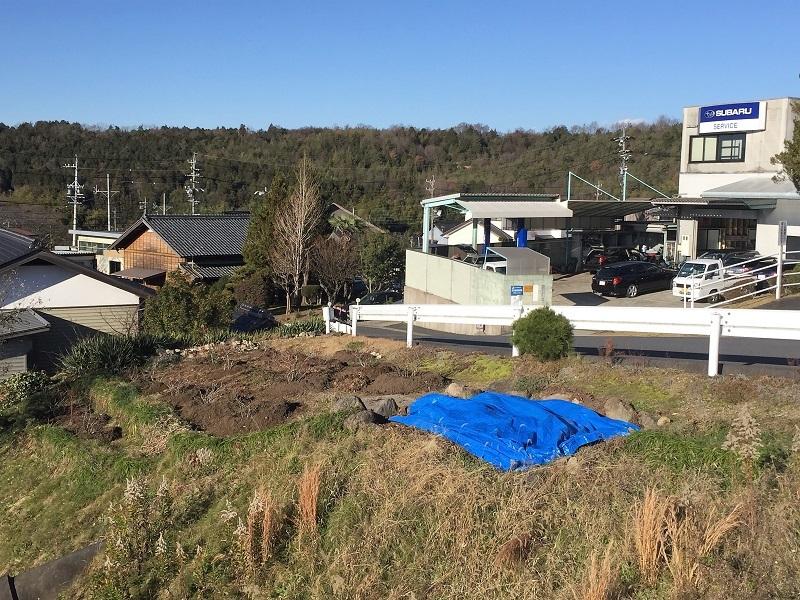 堆肥熟成とブルーベリーの越冬_f0076731_13430353.jpg