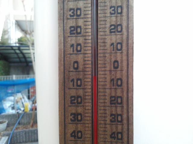 綺麗な夜明け☆マイナス3℃まで回復 (*^^*) 凍っています 🌸🌼🌸_f0061067_18164370.jpg
