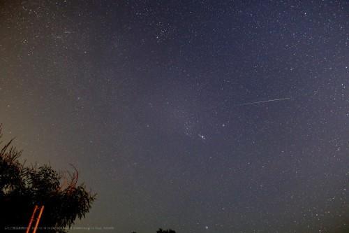 極大日翌日には激減したふたご座流星群2018_a0095470_23253196.jpg
