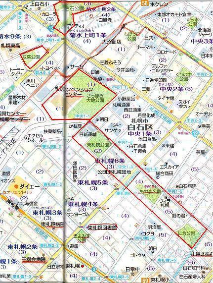 東札幌の公園ベルトを歩く(1)_f0078286_10441777.jpg