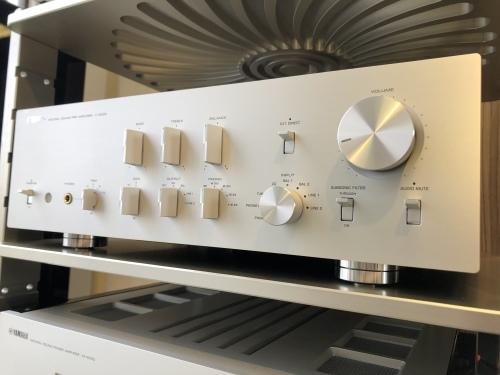 新製品YAMAHAセパレートアンプ「C-5000」&「M-5000」を展示導入致しました!_c0113001_11301680.jpeg